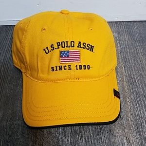 [U.S. Polo] NWT  Yellow Baseball Hat